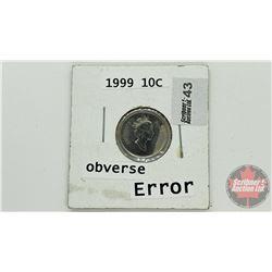 Canada Ten Cent 1999 (Error / Damage ?)