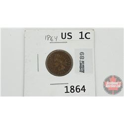 US One Cent 1864