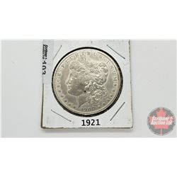 US Morgan Dollar 1921
