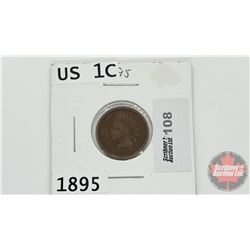 US One Cent 1895