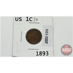 US One Cent 1893
