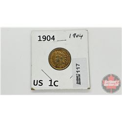 US One Cent 1904