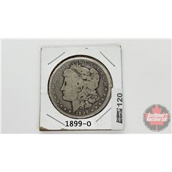 US Morgan Dollar 1899O