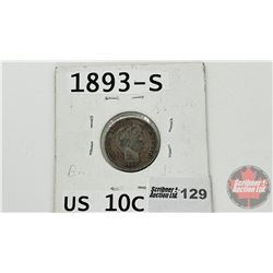US Ten Cent 1893S