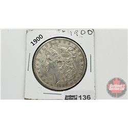 US Morgan Dollar 1900