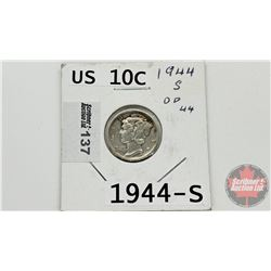 US Ten Cent 1944S