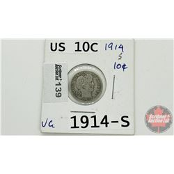 US Ten Cent 1914S