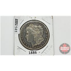 US Morgan Dollar 1886