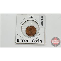 US One Cent 1988D (Error / Damage ?)
