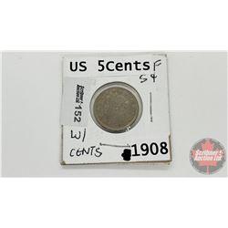 US Five Cents 1908