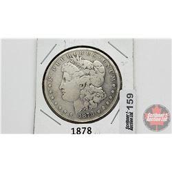 US Morgan Dollar 1878