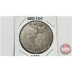 US Morgan Dollar 1886