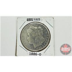 US Morgan Dollar 1886O