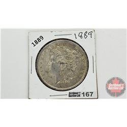 US Morgan Dollar 1889