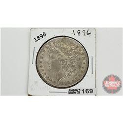 US Morgan Dollar 1896