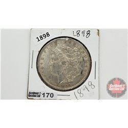 US Morgan Dollar 1898