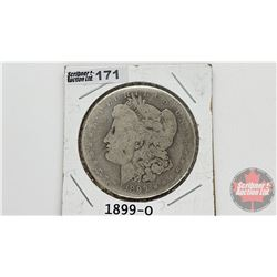US Morgan Dollar 1899O
