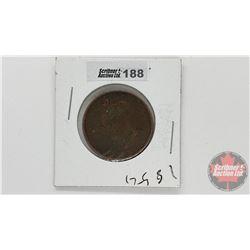 1854 Half Penny Currency New Brunswick
