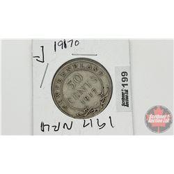 Newfoundland Fifty Cent 1917O