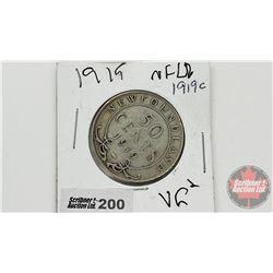 Newfoundland Fifty Cent 1919C