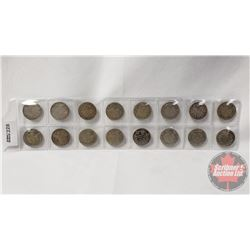 Canada Ten Cent (16): 1910; 1936; 1910; 19??; 19??; 1929; 1928; 1929; 1918; 1936; 1918; 1936; 1919;