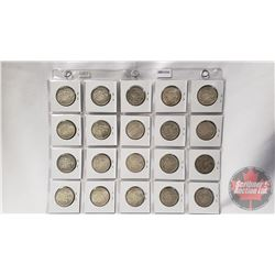 Canada Fifty Cent (20): 1962(8); 1964(3); 1966(9)