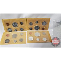 Canada Proof Like Year Sets (4) : 1965; 1965; 1967; 1968