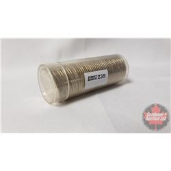 Canada 1967Twenty Five Cent : 1 Roll (NOTE: Rolls not opened by the Auction Company, so quantity and