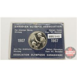 Canadian Olympic Association Token in Card 1907-1967