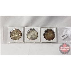 Canada Silver Dollar (3): 1959; 1965; 1966