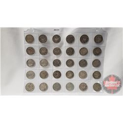 Canada Fifty Cent (30): 1941; 1942; 1943(11); 1945(9); 1950(8)