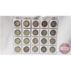 Canada Silver Dollars (20): 1965