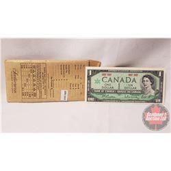Canada $1 Bills (30) in Original Bank Envelope : 1967 Centennial No Serial Number