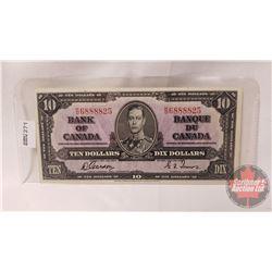 Bank of Canada $10 Bill 1937 : Gordon/Towers KD6888825