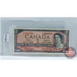 Canada $2 Bill 1954 : Beattie/Rasminsky CU3568736