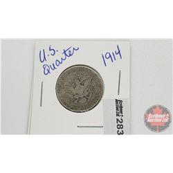US Twenty Five Cent 1914