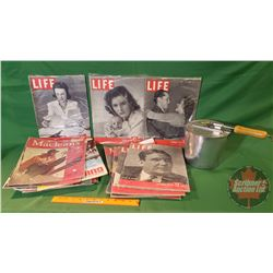 Felnors Theater Popcorn Popper: Knoxville Tenn. with Life & Maclean's, etc Magazines (15)