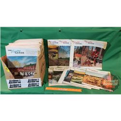"""Large Collection of """"The Country Guide"""" Magazines (Over 100)"""