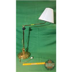 Brass - Swing Arm Electric Lamp