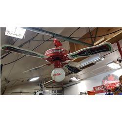 Coca Cola Ceiling Ceiling Fan Light