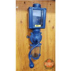 "Wall Mount Coffee Grinder (Blue) (17""H)"