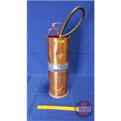 """Copper Fire Extinguisher (2-1/2 Gallon) (24""""H)"""