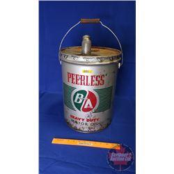 B/A Peerless Five Gallon Pail with Spout