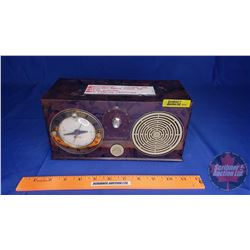 Continental Clock Radio - Model 45 (Chicago, USA) 4 Tube Electric