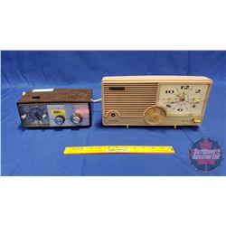 2 Vintage Clock Radios (General Electric & Fleetwood)