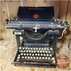 Remington Standard Typewriter No. 11