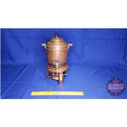 Antique Copper Coffee Urn