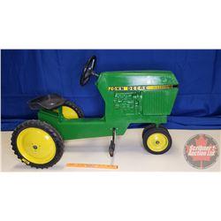 """John Deere Pedal Tractor """"Ertl Model No. 520"""""""