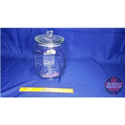 "Peanut Jar with Lid (12""H)"