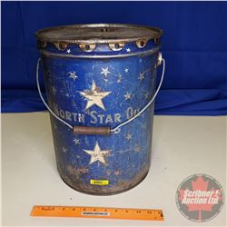 """North Star Limited Five Gallon Oil Pail (15""""H)"""